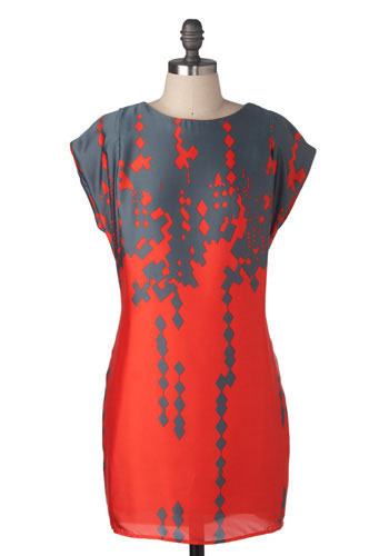 Tectonic Shift Dress - Short