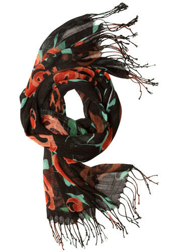 Ramblin' Rose Scarf