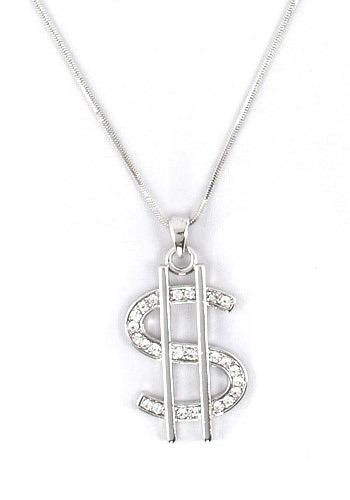 money necklace mod retro vintage necklaces