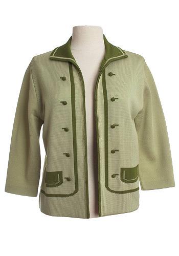 Vintage Trompe L-oeil Jacket
