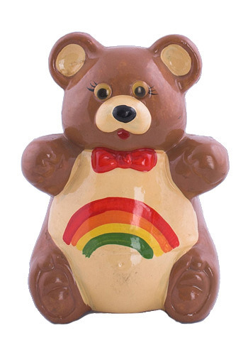 Vintage SomeBEAR Over the Rainbow Bank