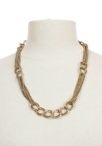 Vintage In Chains Necklace