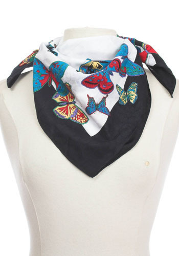 Vintage Brilliant Butterfly Scarf