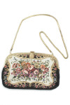 Vintage Antique Tapestry Bag