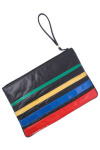 Vintage Oversized Rainbow Clutch