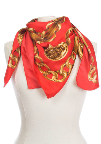 Vintage Luxurious Chains Scarf