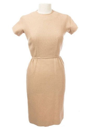 Vintage Beige Audrey Dress
