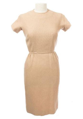Vintage Beige Audrey Dress