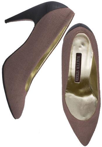 Vintage Dangerous Curves Heels