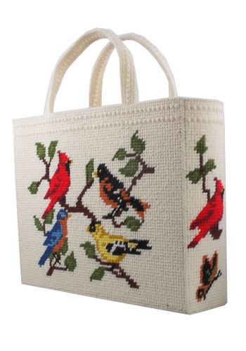 Vintage Birdwatching Bag