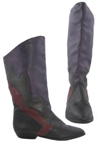 Vintage Color Swoosh Boots