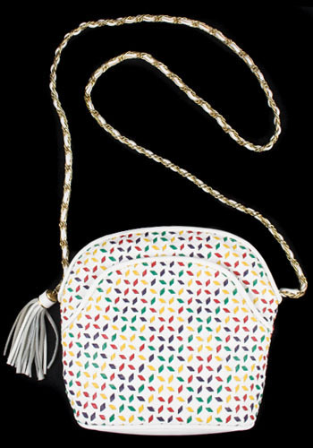 Vintage Rainbow Tassle Purse