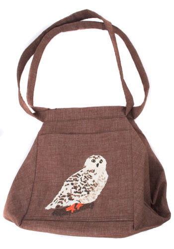 Vintage Wise Old Owl Purse