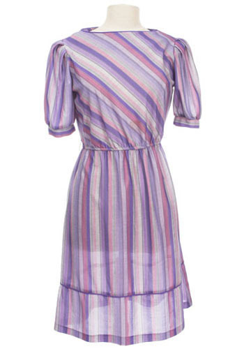 Vintage Shades of Purple Dress