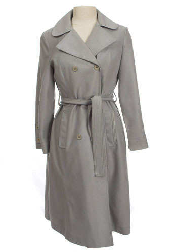 Vintage Gorgeous Grey Trench