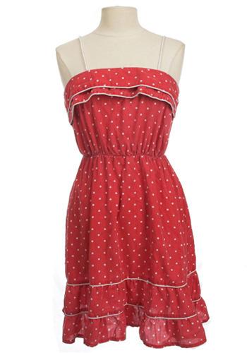 Vintage Cha-Cha Dress