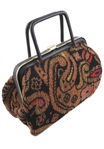 Vintage The Cute Carpet Bag