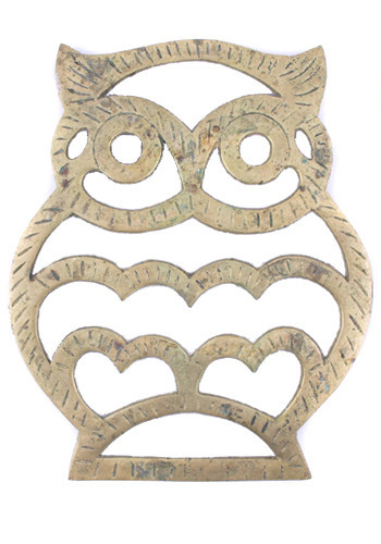 Wise Old Owl Trivet