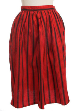 Multi-Stripe Skirt