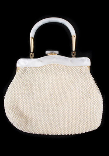 Vintage Beads and Pearls Handbag