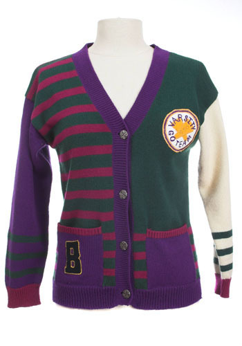 Vintage Go Team Cardigan