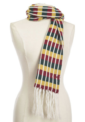 Vintage Autumn Stripe Scarf