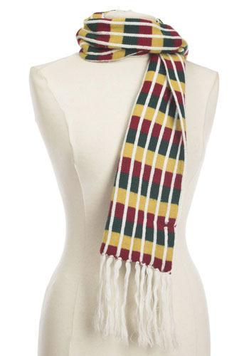 Vintage Autumn Stripe Scarf