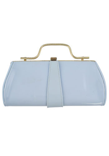 Vintage Powder Blue Clutch