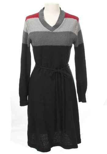 Touch of Grey Sweater Dress - Sweater Dress