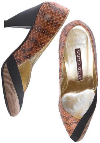 Vintage Sassy Snake Heels