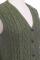 Vintage Split Pea Knit Vest