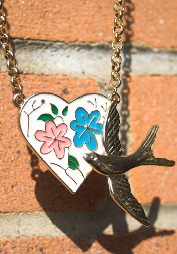 Lovely Dove Necklace