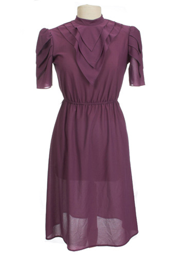 Plum Fairy Dress