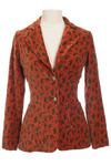 Vintage Burnt Orange Blazer