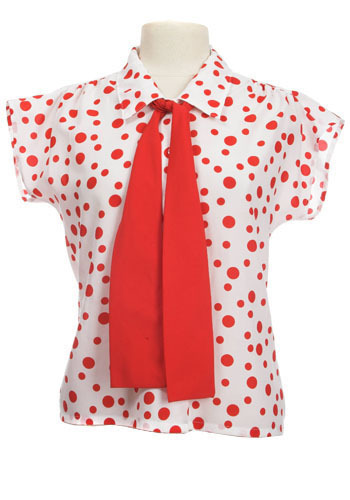 Peppermint Dot Top