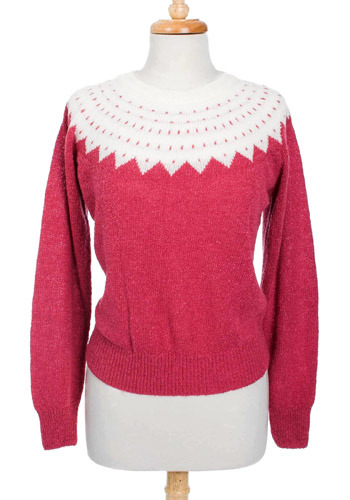 Vintage Watermelon Sweater