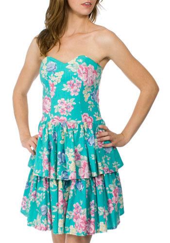 Petal Party Dress