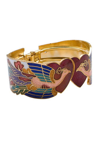 Lovely Peacocks Bracelet