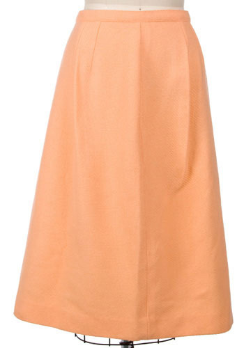 Vintage Peach Pie Skirt