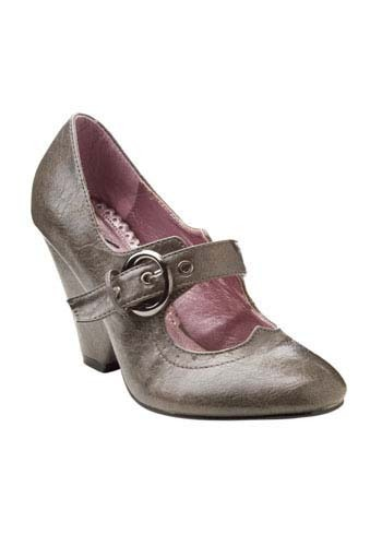 Stone Cold Mary Janes in Grey