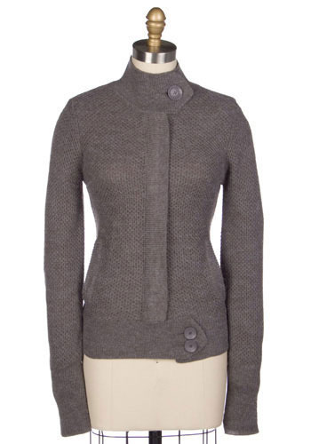 The Grey Super Cardigan by Tulle Clothing