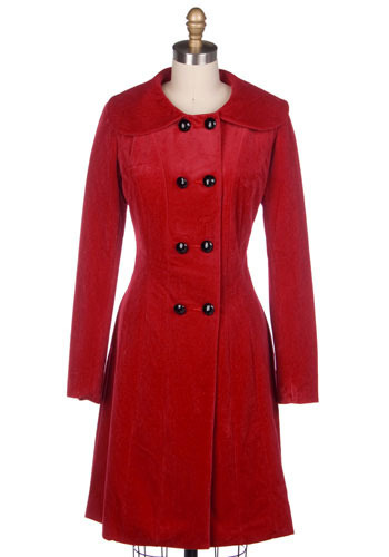 Scarlet Starlet Coat - Long