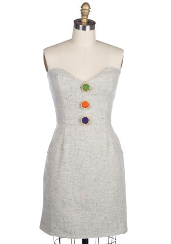 Carefree Tweed Dress