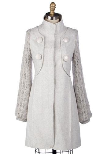 Sweater Coat Long