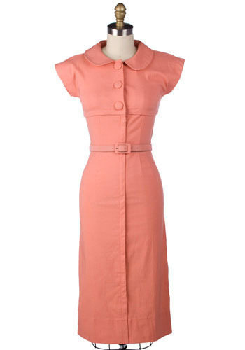 Apricot Dress by Stop Staring! - Long