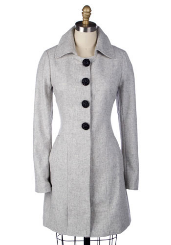 Grey-t Expectations Coat - Long