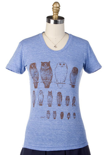 Retro Roosting Tee - Mid-length