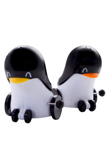Wind-Up Penguins Salt and Pepper Set