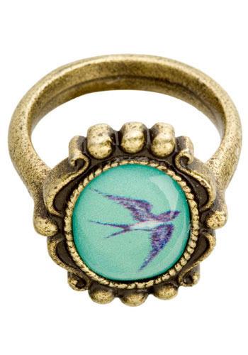 Soaring Swallow Ring