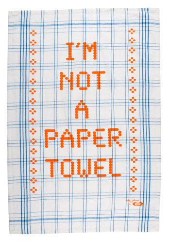 I Am Not a Paper Towel